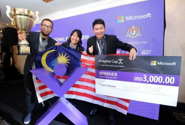 Microsoft Imagine Cup 2018 APAC Winner : Team PINE!