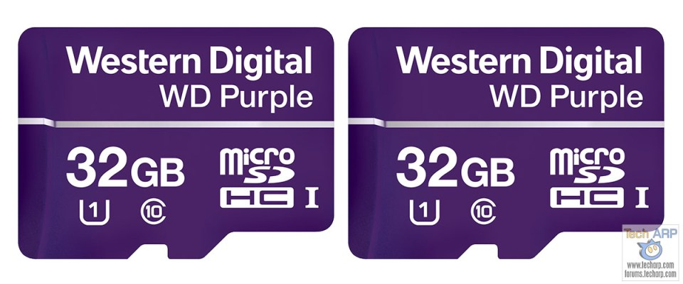 WD Purple microSD Cards For 4K Surveillance Revealed!