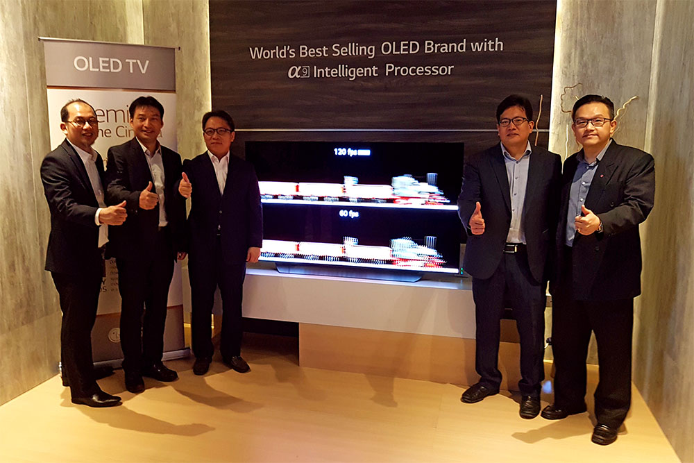 The 2018 LG Electronics Home Technology Showcase