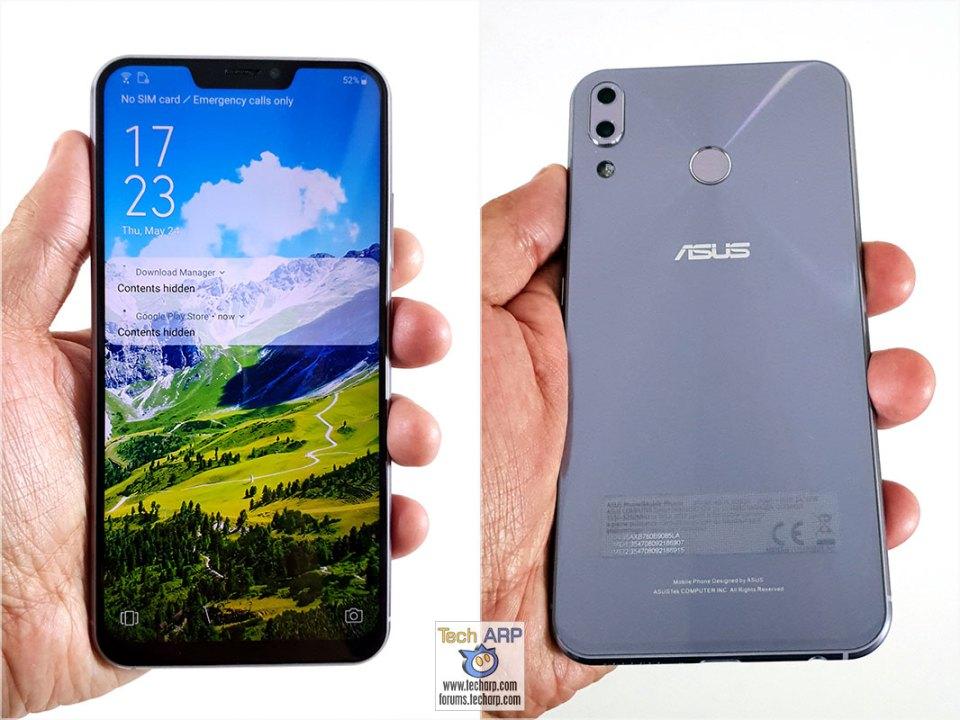 ASUS ZenFone 5 ZE620KL in hand