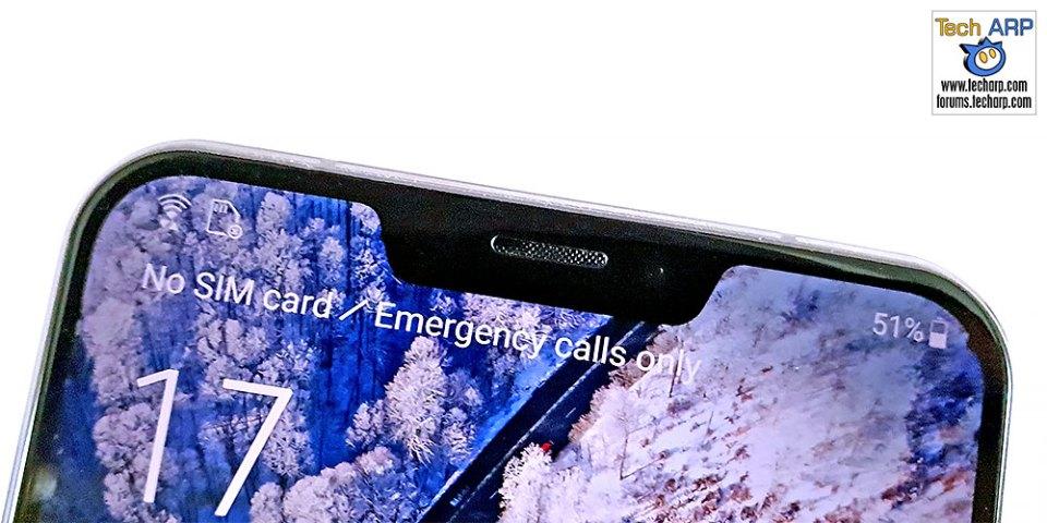 ASUS ZenFone 5 ZE620KL notch