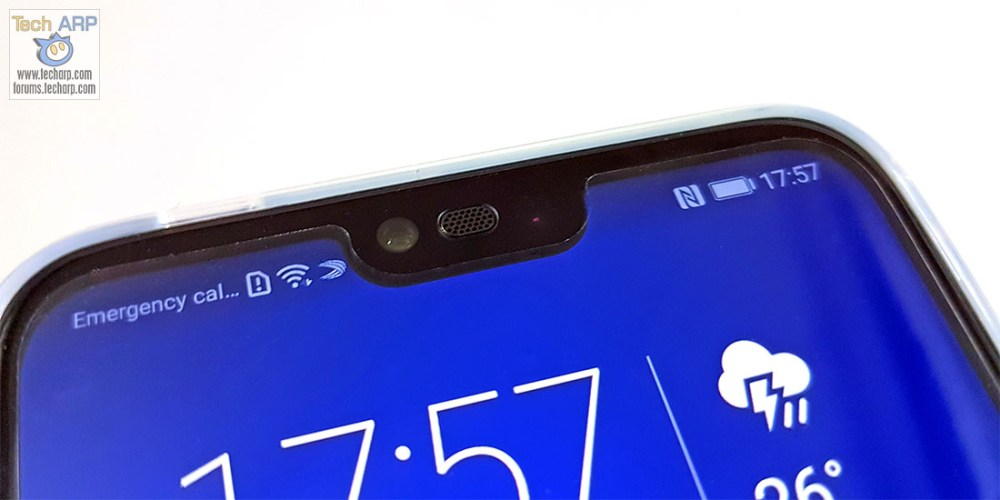 Honor 10 display notch