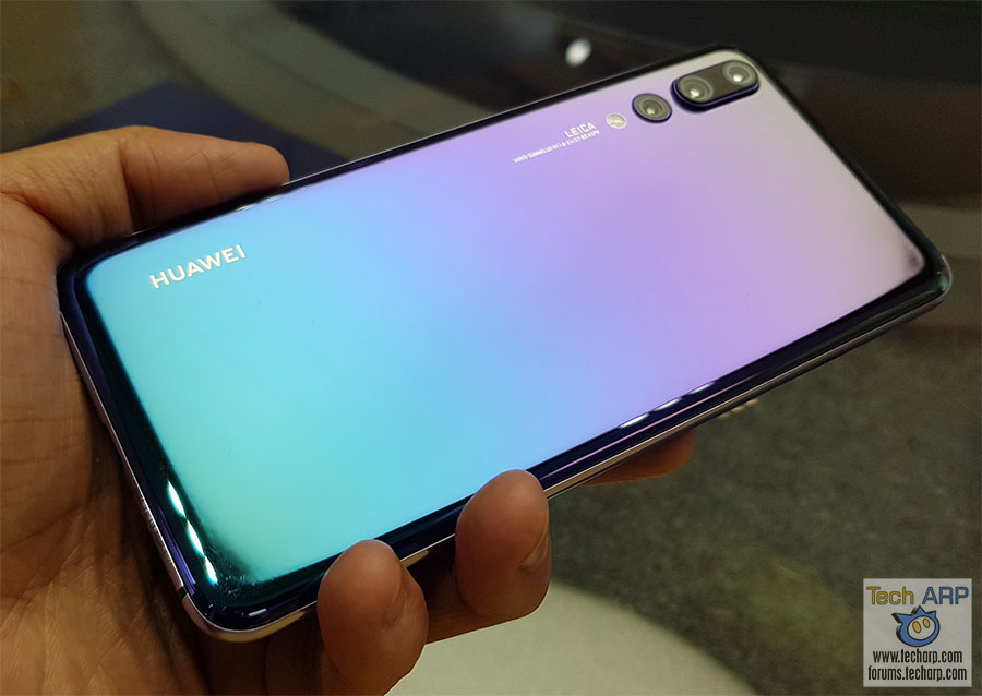 HUAWEI P20 Pro Twilight Edition Hands-On Preview!