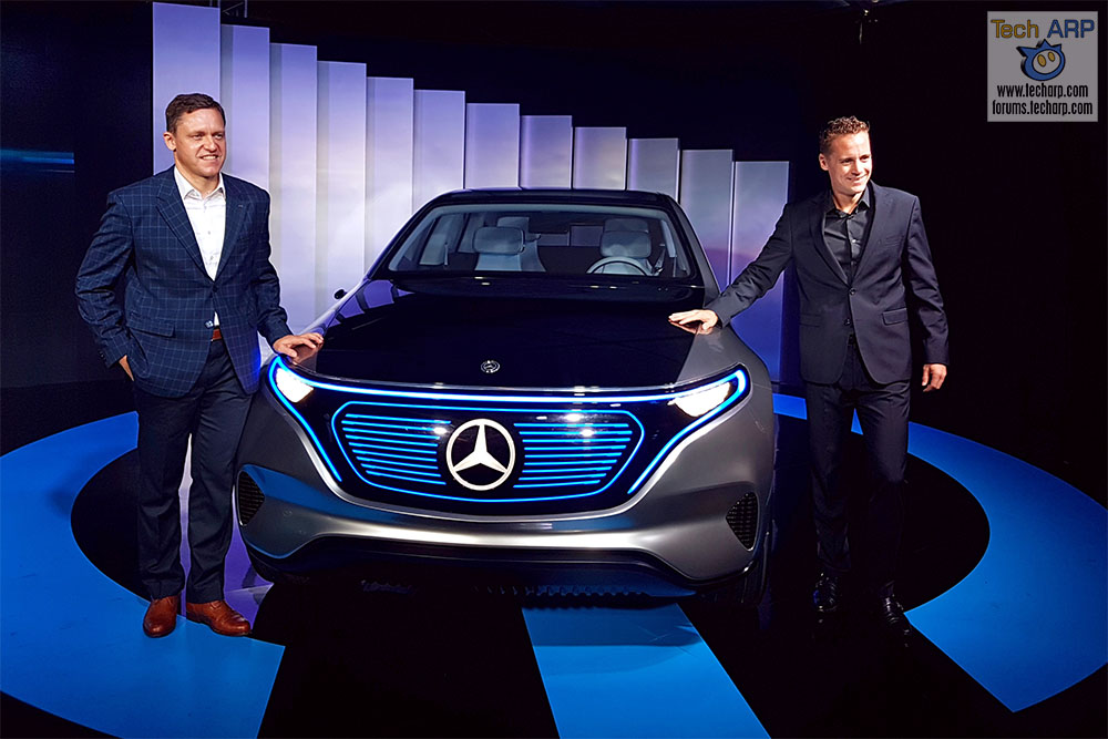 The Mercedes-Benz Concept EQ Showcase + Test Drive!