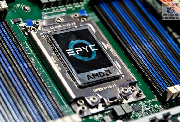 AMD 7nm EPYC Processor Update + First Look!