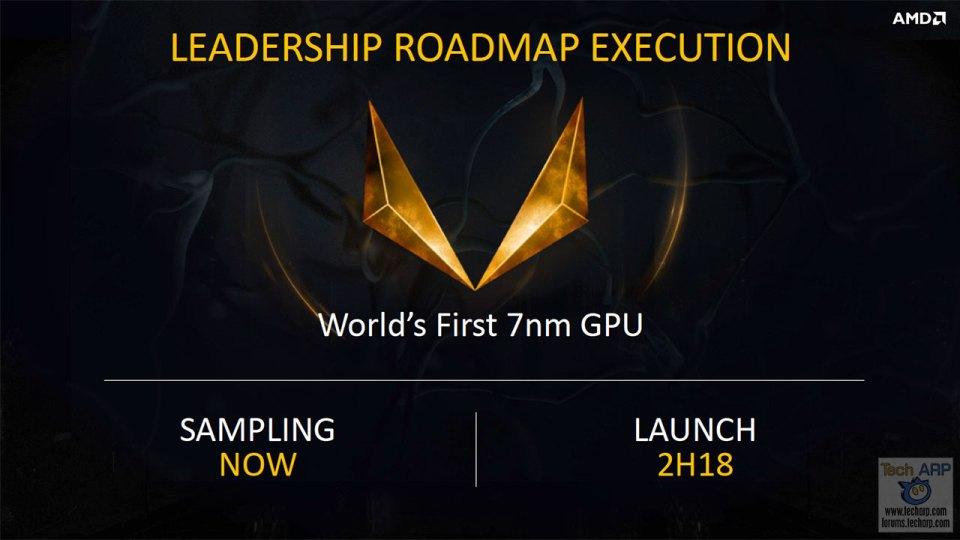 The AMD 7nm Vega Presentation + Demo + First Look!