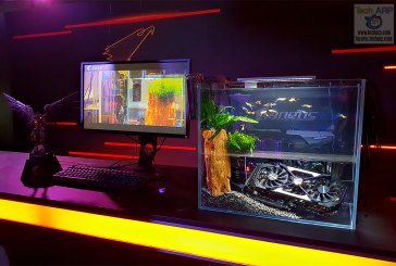 AORUS Aquarium PC Mod - Learn How They Did It!