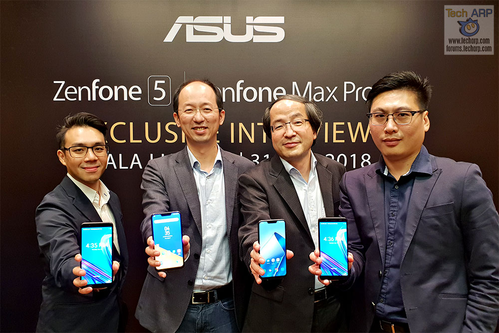 ASUS ZenFone 5 + ZenFone Max Pro M1 Exclusive Interview!