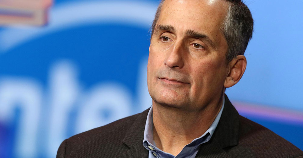 Intel CEO Brian Krzanich Resigns Over Past Affair