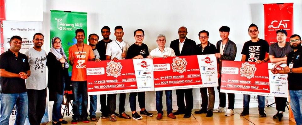 Grand Challenge 2018 Hackathon 01 - Penang participants