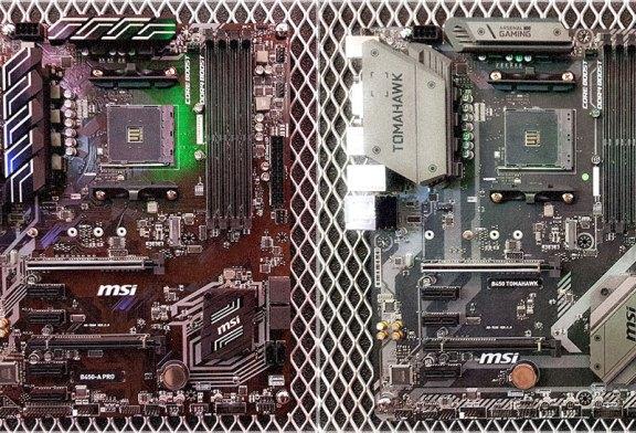 MSI B450 Tomahawk + MSI B450A-Pro Preview
