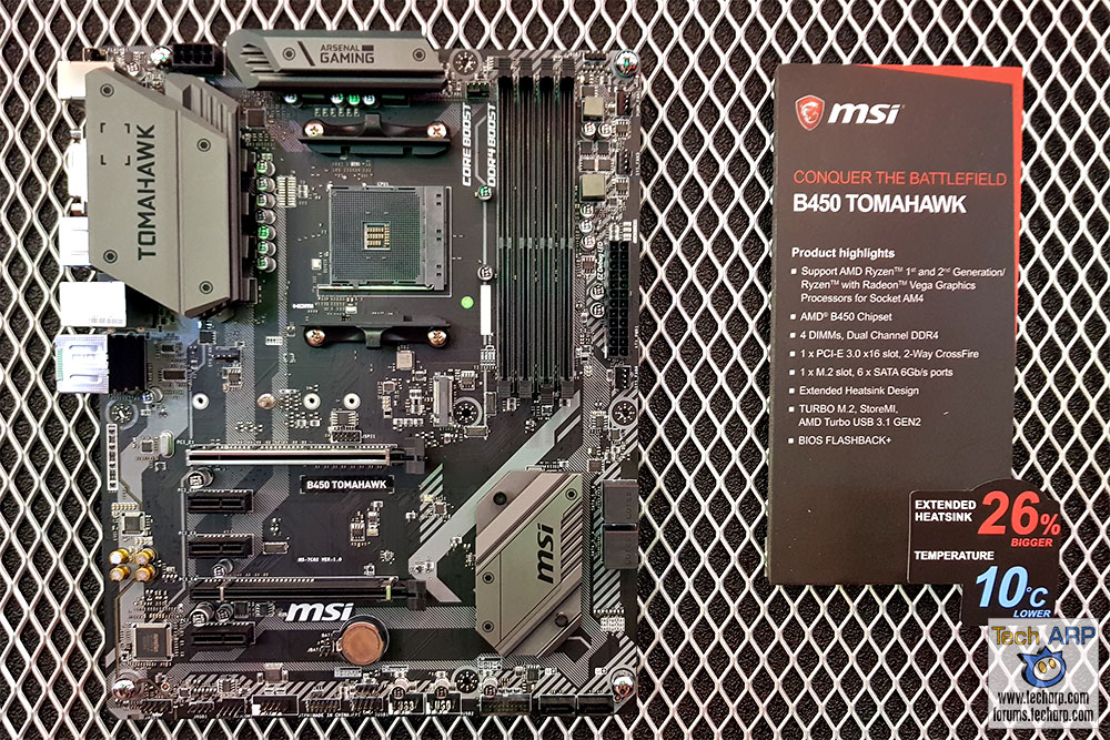 MSI B450 Tomahawk + MSI B450A-Pro Preview - Tech ARP