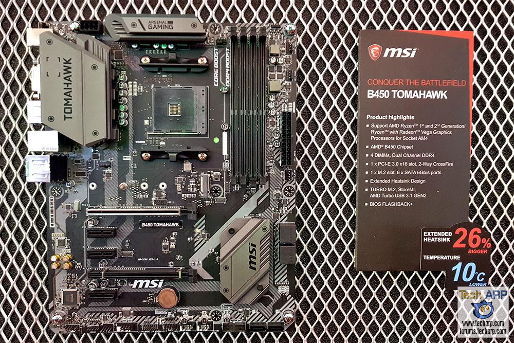 MSI B450 Tomahawk + MSI B450A-Pro Preview   Tech ARP