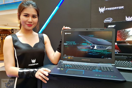 2018 Acer Predator Helios 500 Gaming Laptop Up Close!