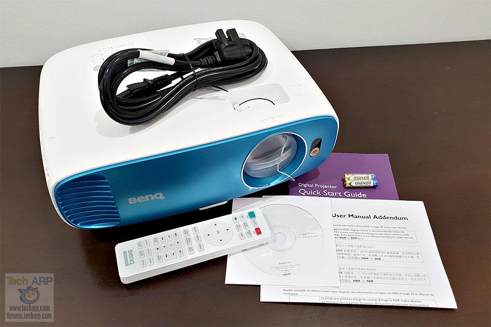 BenQ TK800 box contents