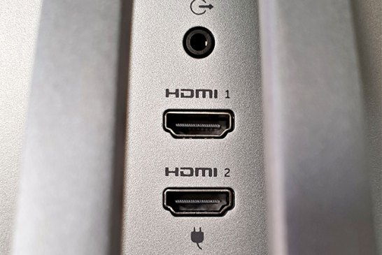 Dell S2719DM ports