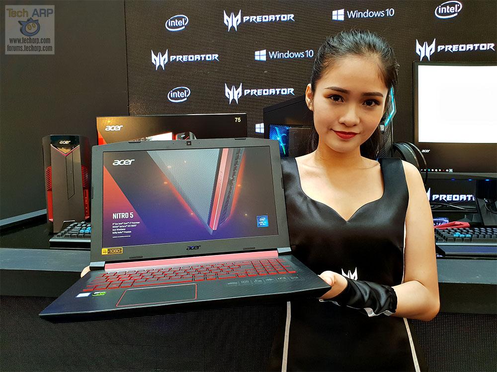 The 2018 Acer Nitro 5 Gaming Laptop Up Close! - Tech ARP
