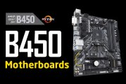 The First AMD B450 Motherboards Revealed!