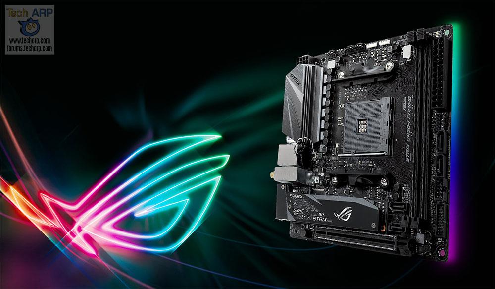 ASUS B450 Motherboard - ASUS ROG STRIX B450-I Gaming