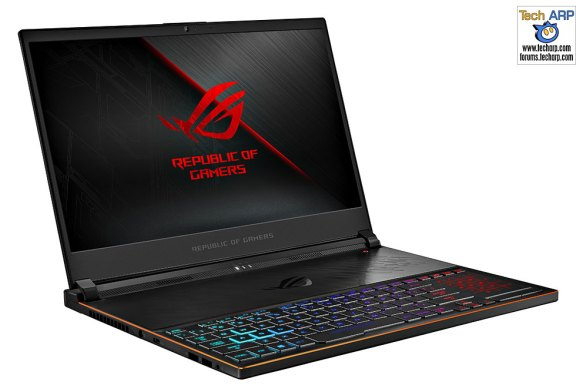 The ASUS ROG Zephyrus S (GX531) Gaming Laptop Preview!