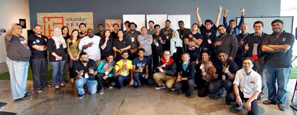 Grand Challenge 2018 Hackathon 03 - Johor participants