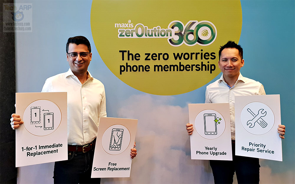 Maxis Zerolution360 launch