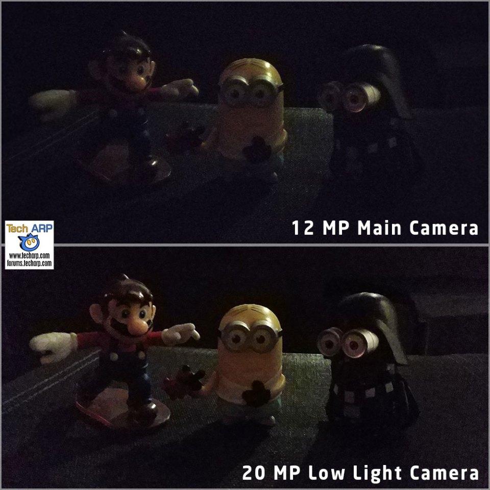 Xiaomi Mi A2 low light comparison