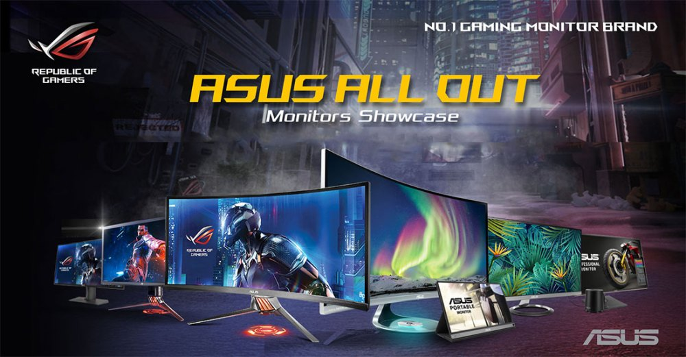 The 2018 ASUS Gaming Monitor All Out Showcase!