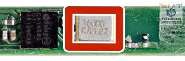 Dialog DA13580 Bluetooth Smart SoC