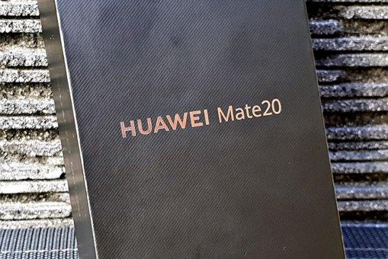 HUAWEI Mate 20 box