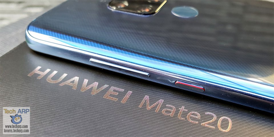 HUAWEI Mate20 right side