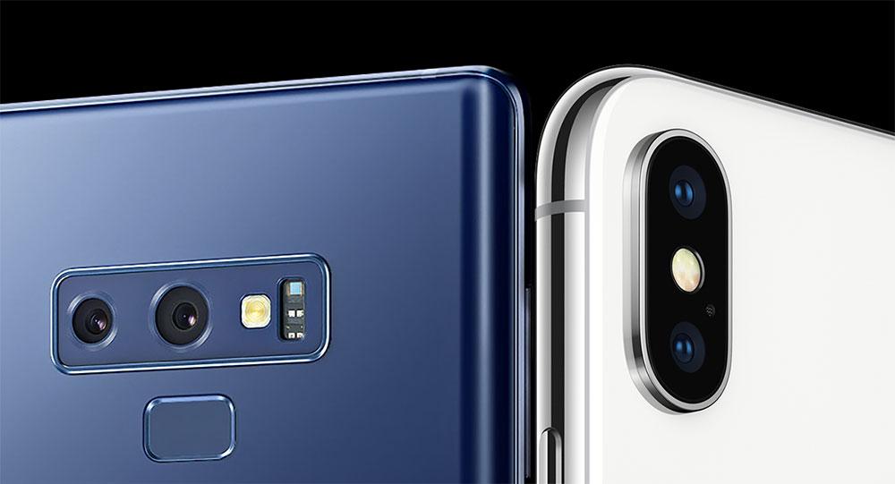 Low Light Shootout - Galaxy Note9 vs. iPhone X