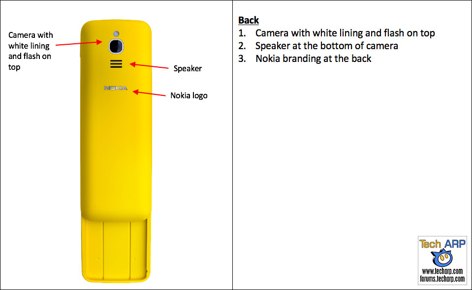 Real Nokia 8110 banana phone identification
