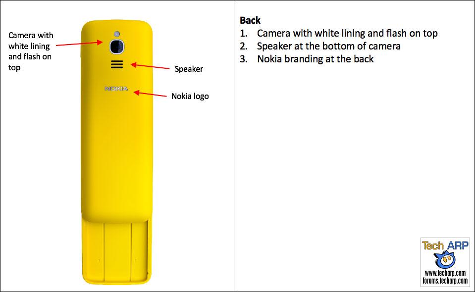 Real Nokia 8110 banana phone identification