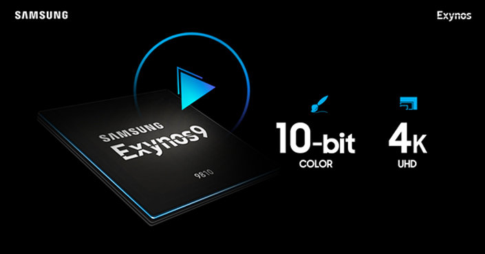 Samsung Exynos 9810 video capabilities