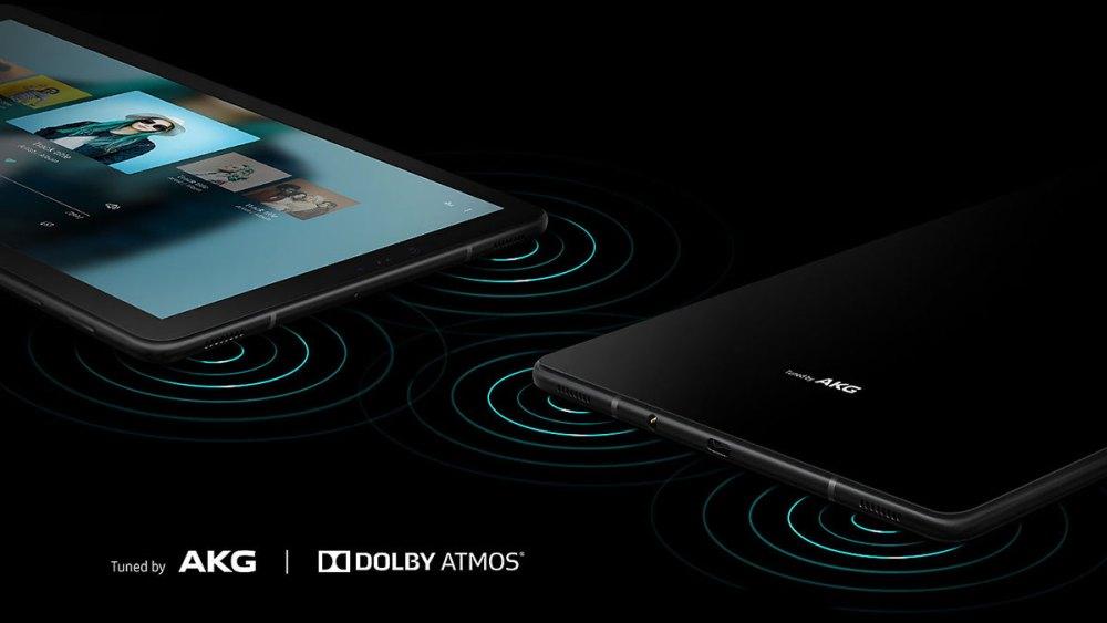 Samsung Galaxy Tab S4 audio