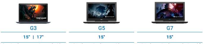 Dell G series laptops