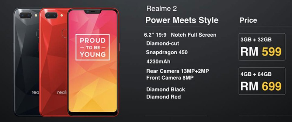 Realme 2 Malaysia price