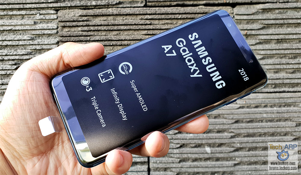 The 4x Camera Samsung Galaxy A7 2018 Sm A750 Review Tech Arp