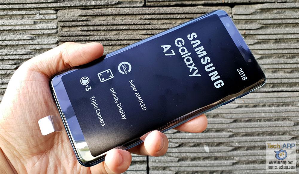 brand new 2d9f4 5c96f The 4X Camera Samsung Galaxy A7 2018 (SM-A750) Review! - Tech ARP