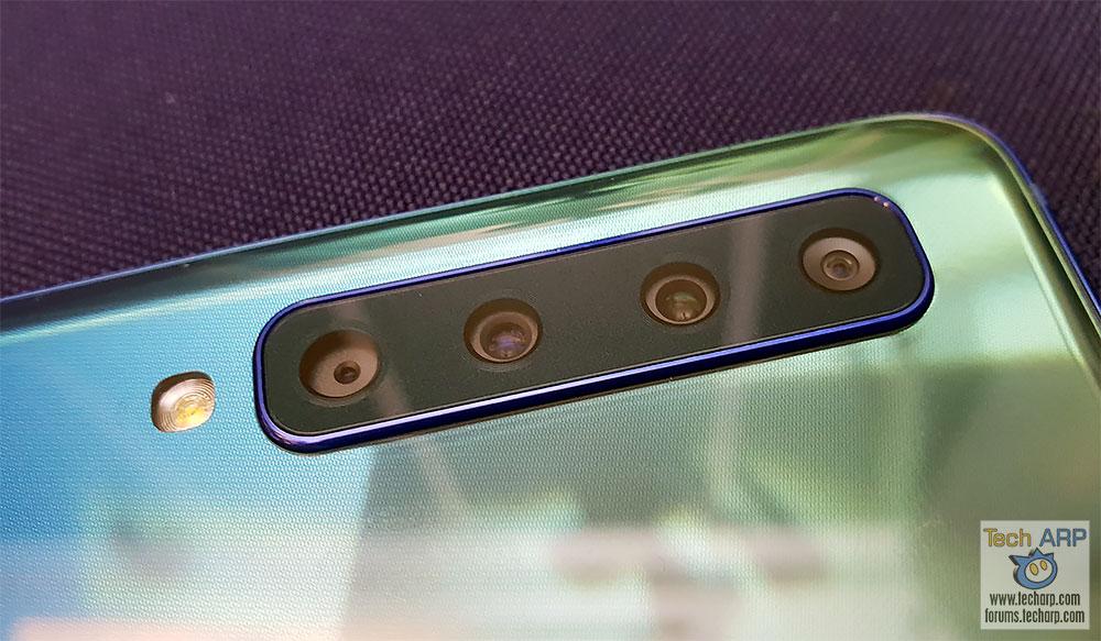 Samsung Galaxy A9 2018 quad cameras