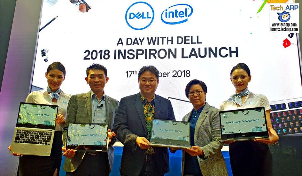 Dell Showcases New 2018 Inspiron 5000 + 7000 Laptops!