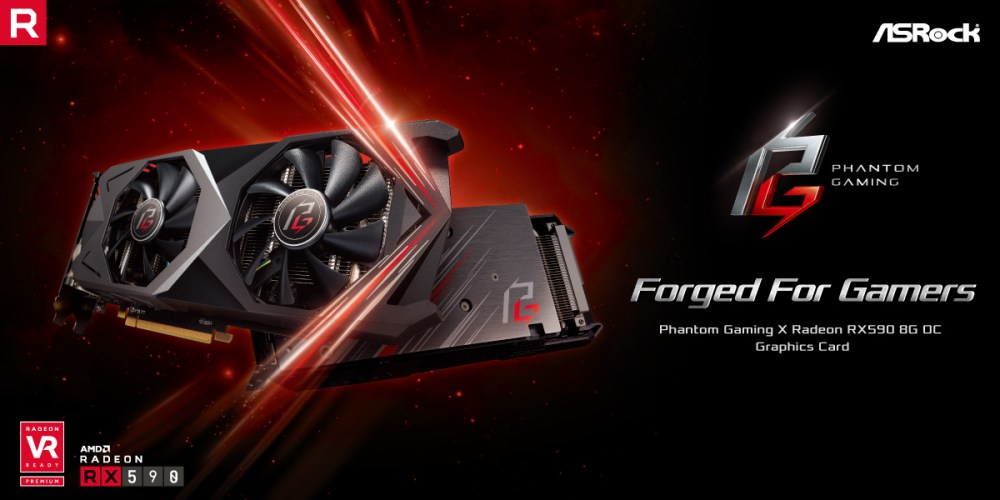 ASRock Phantom Gaming X RX590 Graphics Card Revealed!