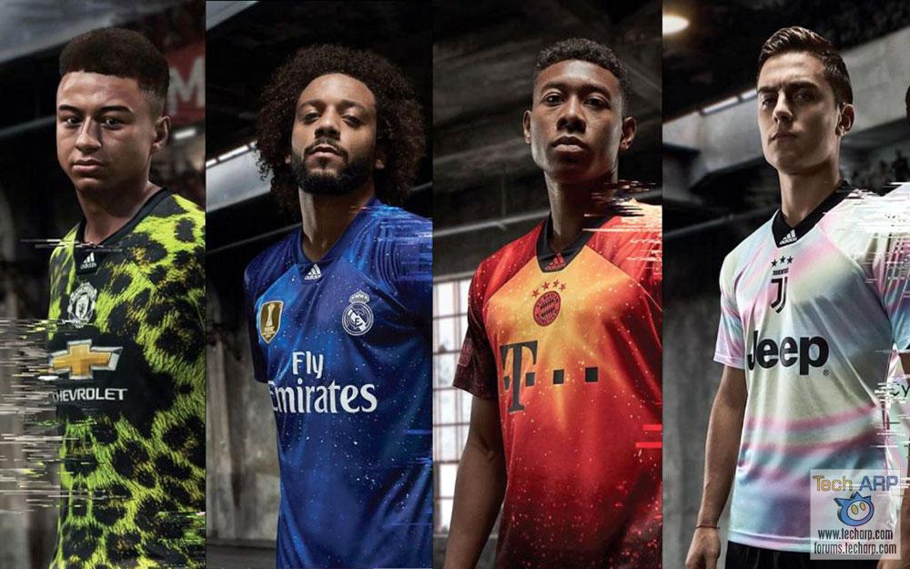 adidas Football + EA SPORTS Reveal Limited Edition Jerseys!