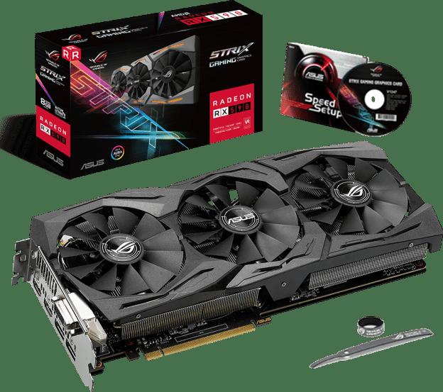The ASUS ROG Strix Radeon RX 590 Revealed!