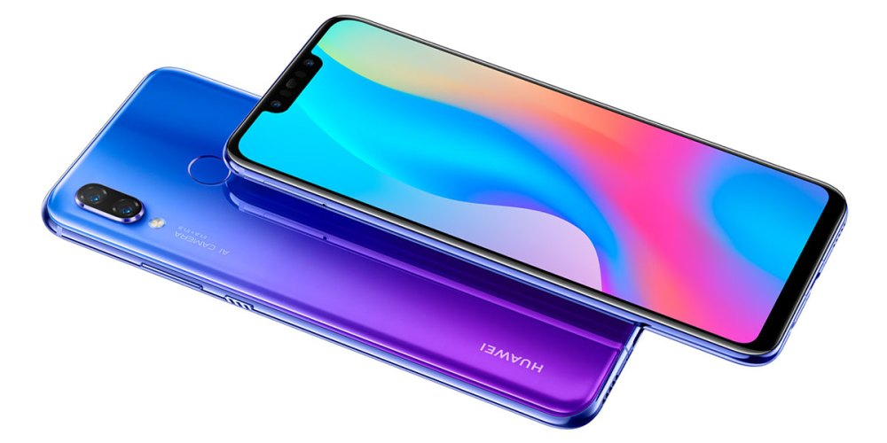 HUAWEI Nova 3 display