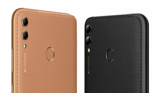 HUAWEI Y Max faux leather back