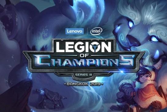 The Legion of Champions III (LoC III) Finals In Bangkok!