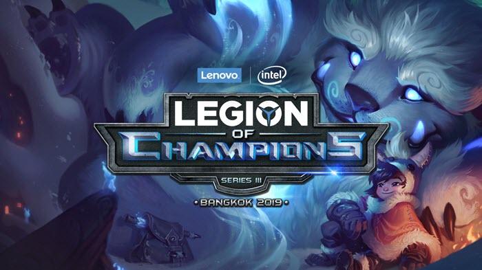Lenovo + Intel Kicks Off Legion of Champions III 2019 Finals!