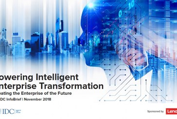 Lenovo + IDC : Powering Intelligent Enterprise Transformation
